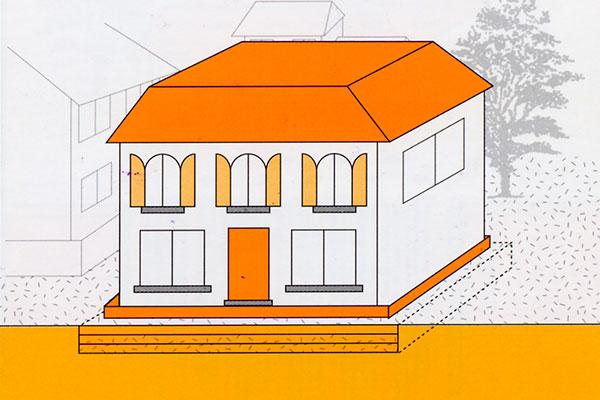 表層改良工事のイメージ画像