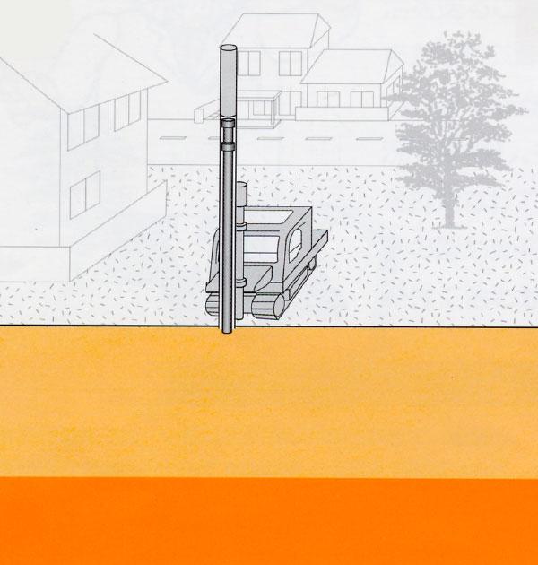 鋼管杭のイメージ画像